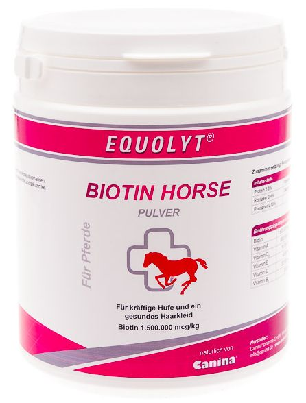 Canina EQUOLYT Biotin Horse prášek 500 g