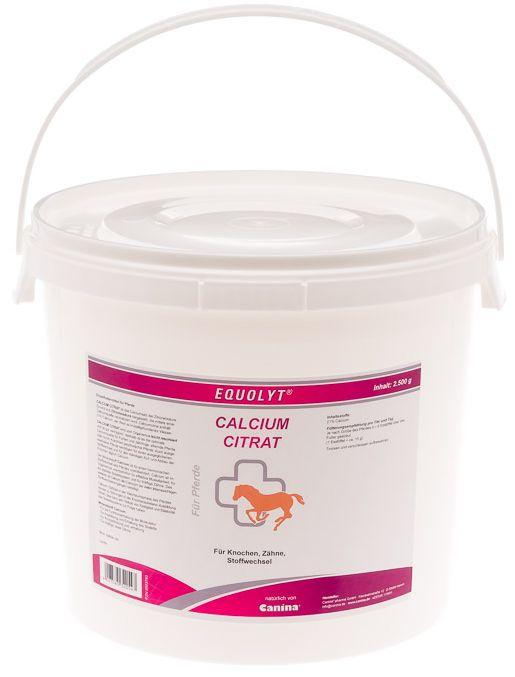 Canina EQUOLYT Calcium Citrat 2 500 g