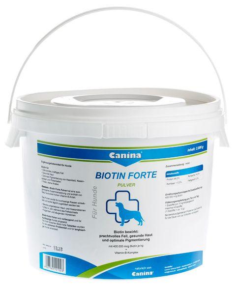 Canina Biotin forte prášek 2 000 g