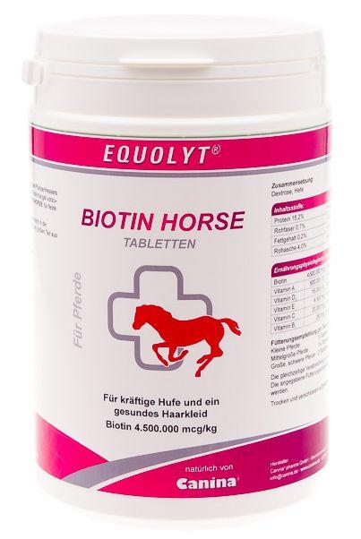 Canina EQUOLYT Biotin Horse tablety 700 g